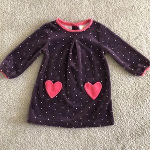 Mini Boden velour dress